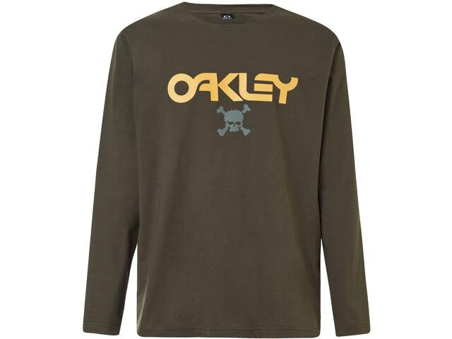 Oakley TC Skull Longsleeve T-Shirt Heren, new dark brush